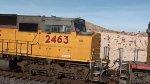 EB Ballast train at Apex NV