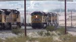 WB Stack Train Mtg W/EB Drag Frt at Valley, NV-5
