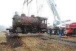 Spinning a steam loco