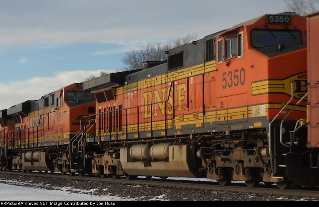 BNSF 7815 & 5350