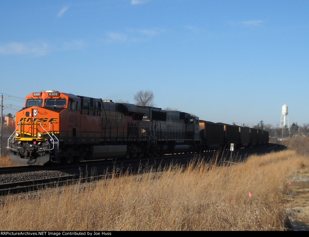 BNSF 6309 East