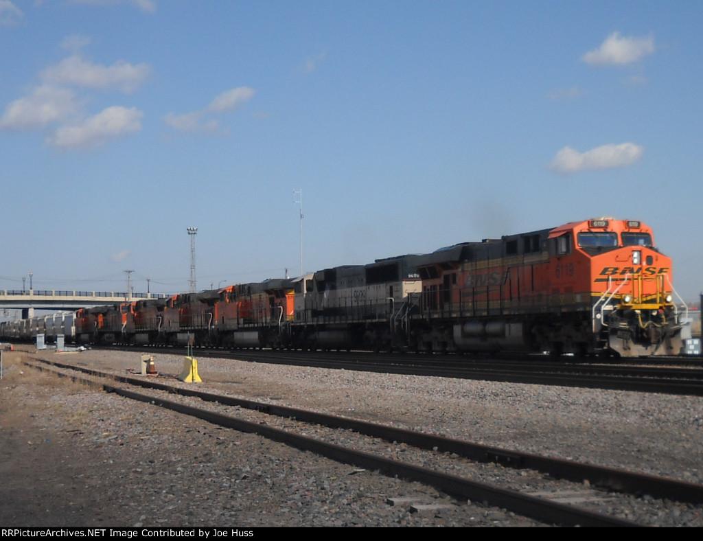 BNSF 6119 West
