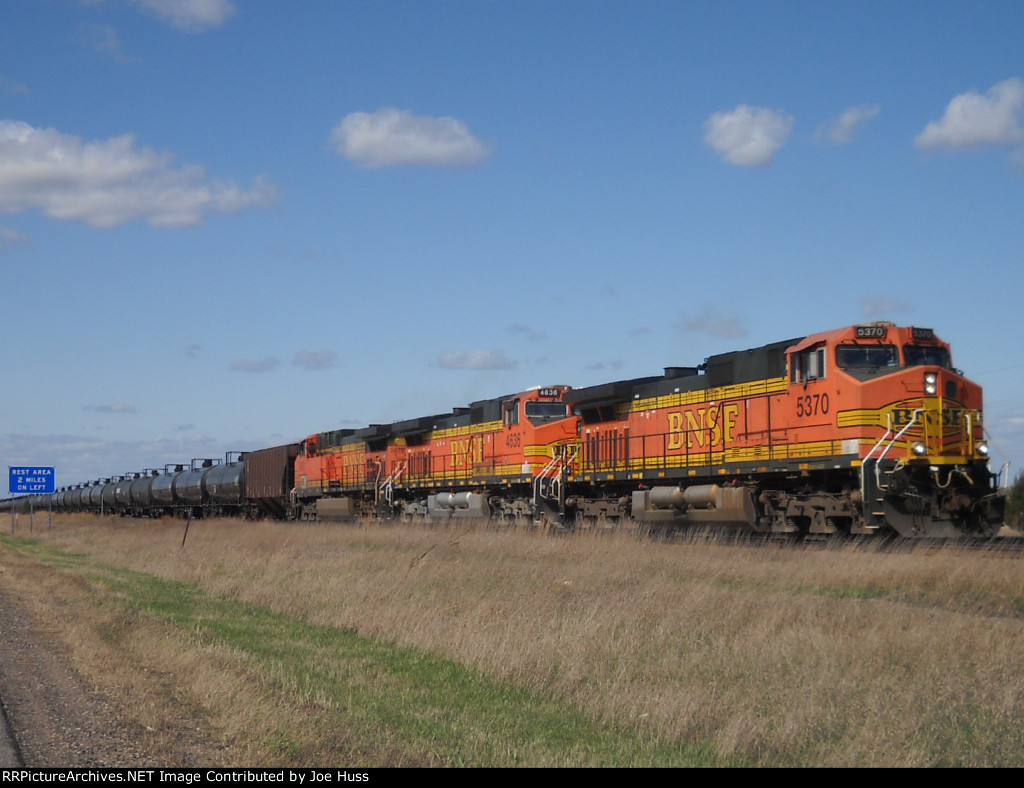 BNSF 5370 East