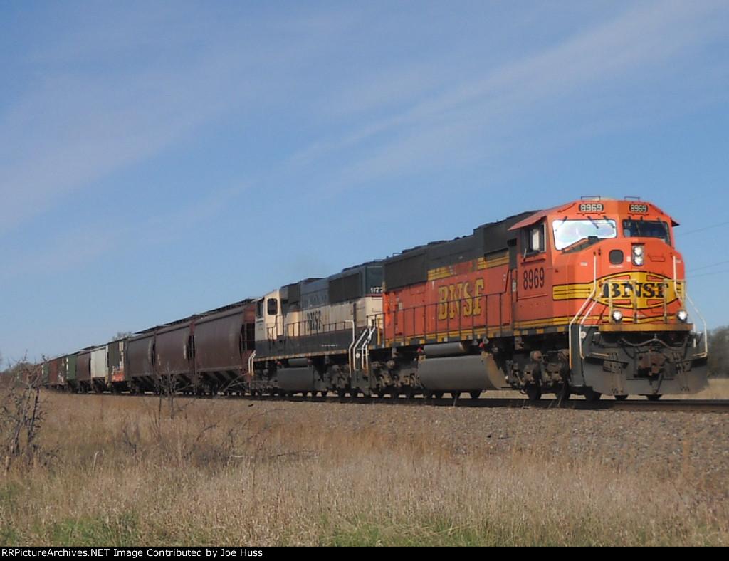 BNSF 8969 East