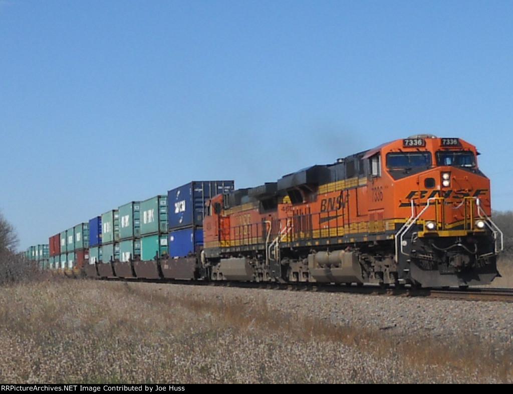 BNSF 7336 East