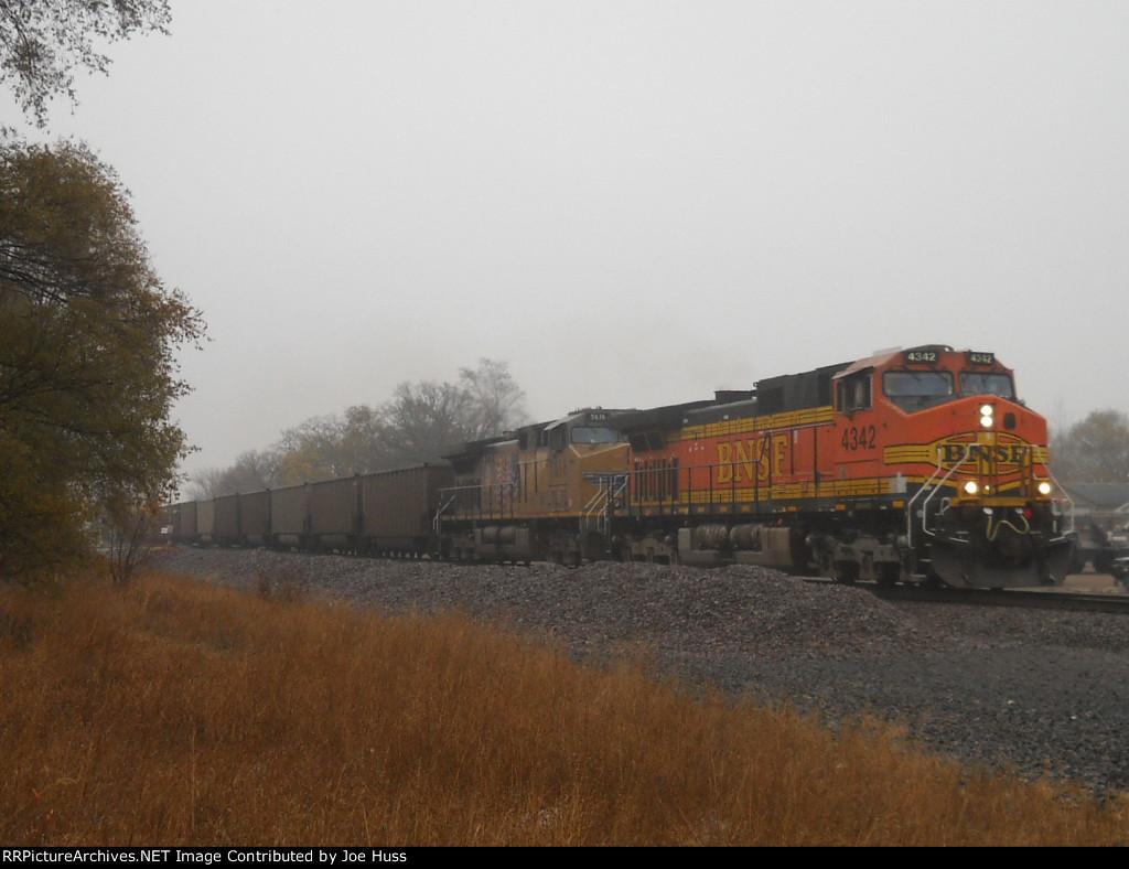 BNSF 4342 West
