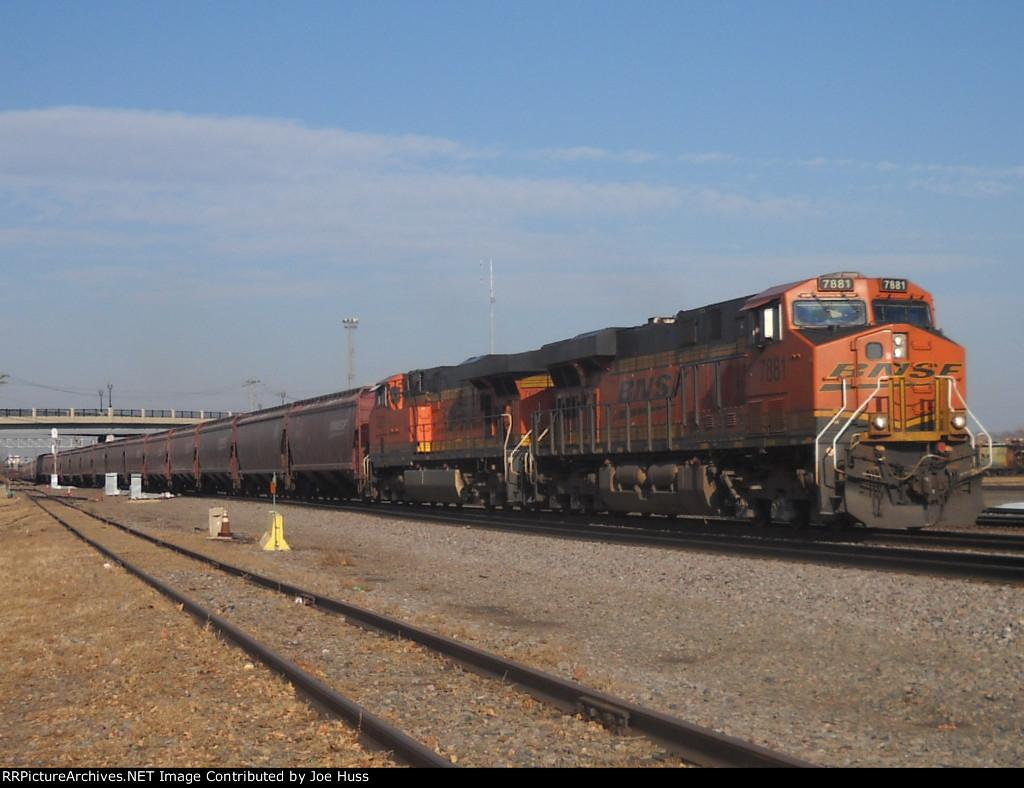 BNSF 7881 East