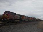 BNSF 691 West
