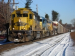 """Q268-12 roars south on a cold Tuesday morning with """"interesting"""" power"""