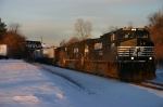 NS Eastbound Gets Sun's first Rays @ 0735 hrs.