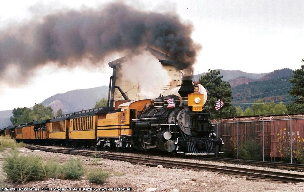 Durango & Silverton #473 starts upgrade