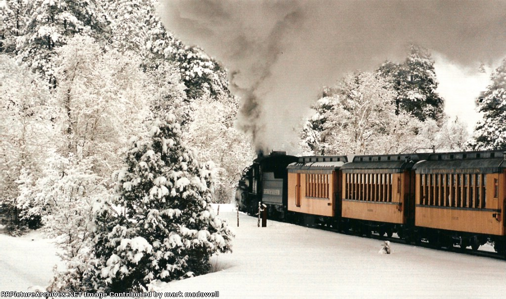 Colorado Winter Morning