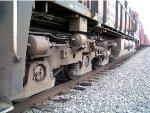 BNSF ES44C4 6891 REAR TRUCKS