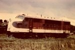 An early picture of the 4105 before the mid 1960s simplied paint