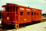 Caboose X153 in Albany