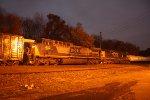 q410 manifest 6:45 am intermodal train in back round n b