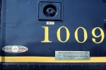 Wabash 1009's commerative plate