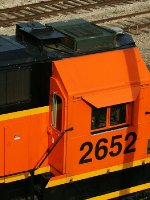 BNSF 2652's roof details