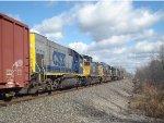 All 6 locomotives on CSX Q626