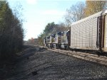 All 4 locomotives on CSX Q365