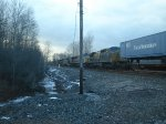 All 5 Locomotives on CSX Q117