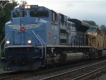 A Closer Look of CSX K683-20 With Union Pacific Heritage Unit 1982