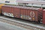 Missouri Pacific Boxcar