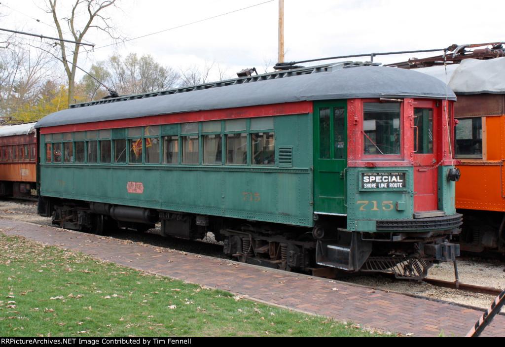 North Shore Line #715