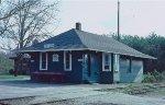 The Virginia Blue Ridge depot at Piney River