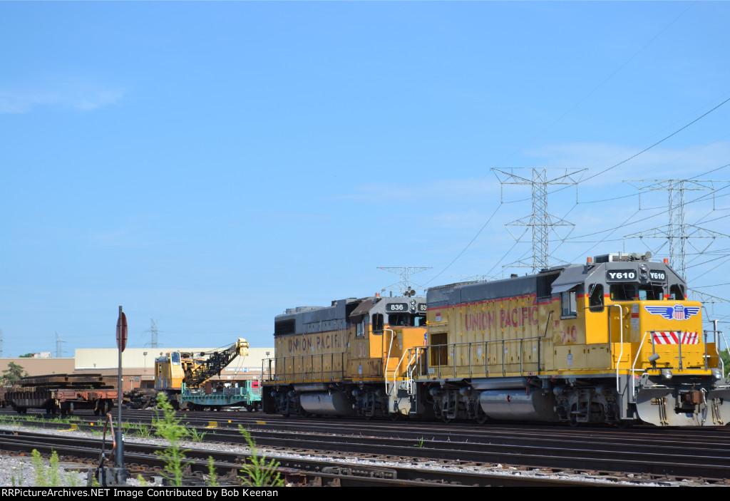 UPY 610 & UP 836