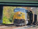 CSX Coal train at St Denis