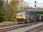 Another CSX Coal Train at St Denis