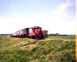 IC 8035 leading train 776 East