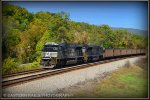 NS SD70ACe 1019 leads 763