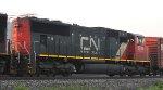 CN 5705 Rear