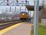 Another CSX Intermodal on Close Track
