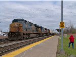 CSX Intermodal with a CN