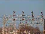 CSX Depew Eastbound Signals