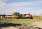 CN 8009 - BNSF 7725 - CN 5410