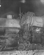 Head on collision Southern engines 6624 and 4586.