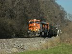 BNSF 5813 Passing The 61.9