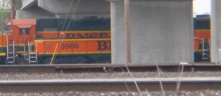 BNSF 3966