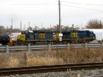 CSX 8305 and 5226