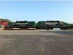 Clean Emissions locomotives