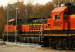 BNSF 2662, 1097