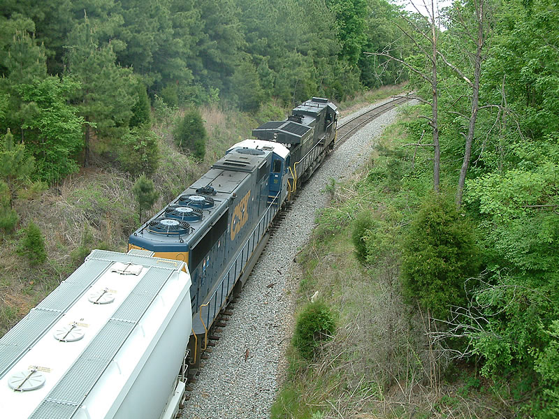 Overhead shot of these locos