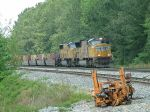 CSX Train Q182 passes on track 1