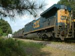 CSX 572 in consist