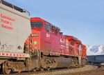 CP 8501, Heads for Home with with a mixed consist and empties