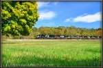NS SD70ACe 1024 leads a westbound coal train